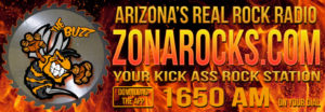 ZonaRocks 1650 AM – Saturday 9am / Sunday 6am